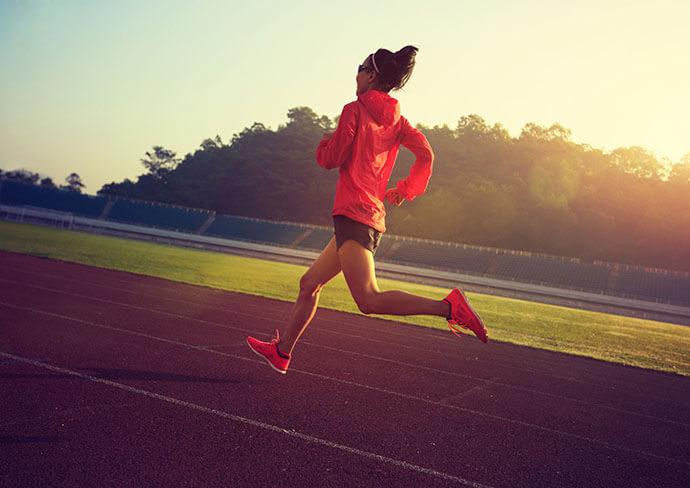 マラソンの写真